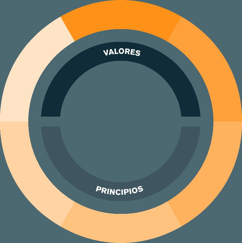 Maploca circulo valores y principios